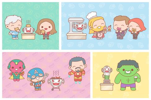 100 Soft - Avengers Age of Ultron updated