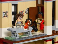 Ghostbusters LEGO Firehouse set