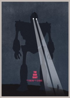 The Iron Giant Minimalist Poster