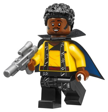 lego star wars lando smiling