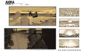Akira Storyboards 1