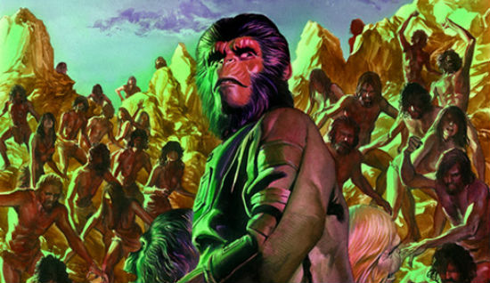 Alex Ross Planet of the Apes Cataclysm header