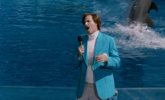 Anchorman 2 SeaWorld