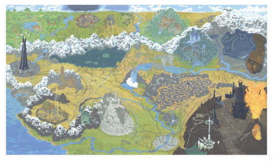 Andrew DeGraff Lord of the Rings