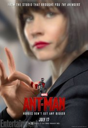 Ant-Man character posters - Evangeline Lilly as Hope Van Dyne