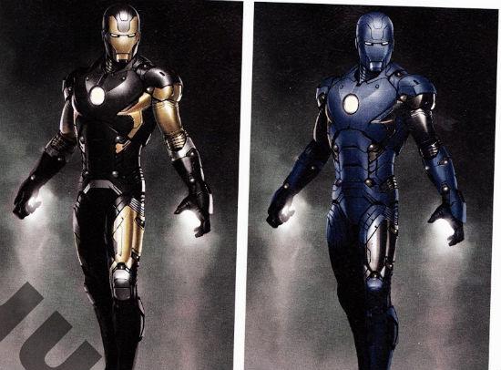 Art Iron Man 3 scan