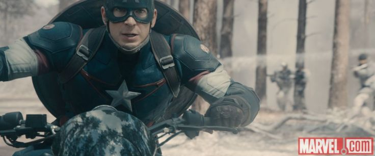 Avengers Age of Ultron - Chris Evans as Captain America