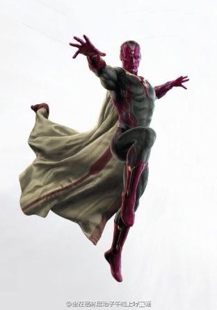 Avengers Age of Ultron art Vision 2