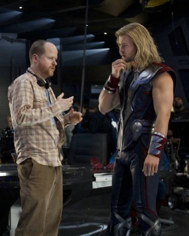 Avengers BTS Hemsworth s