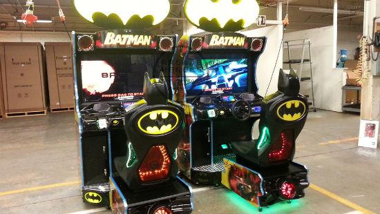 Batman Batmobile Arcade Game