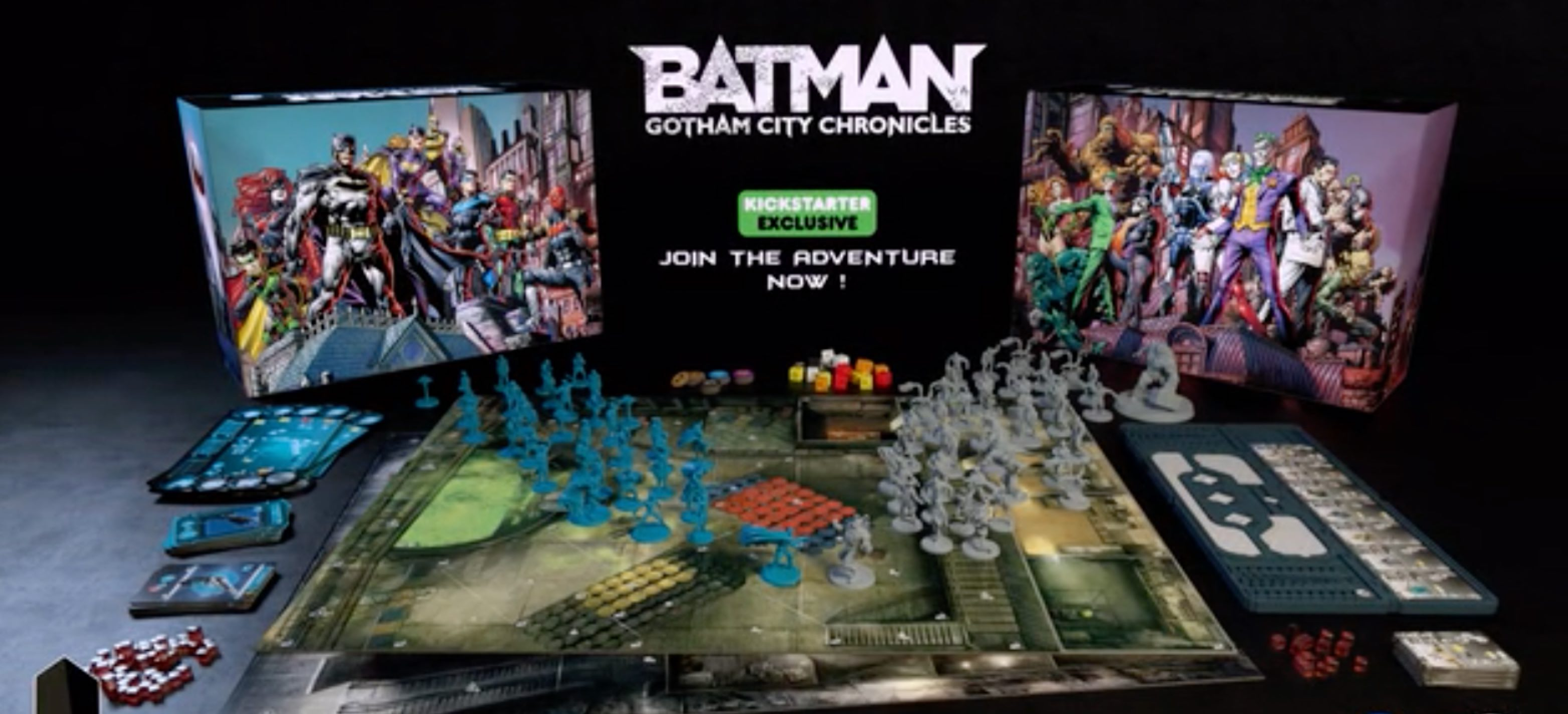 Cool Stuff   Batman  Gotham City Chronicles  Board Game Available     Batman  Gotham City Chronicles
