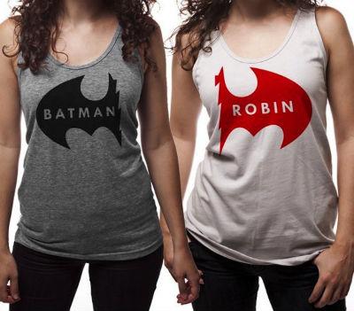Batman Robin shirts