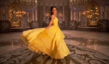 Beauty and the Beast - Belle (Emma Watson) in dress