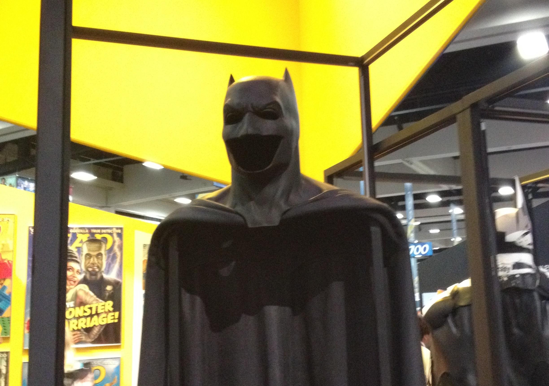 Batsuit Revealed Ben Affleck Ben Affleck's Batsuit ...
