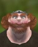 Brave - King Fergus Portrait