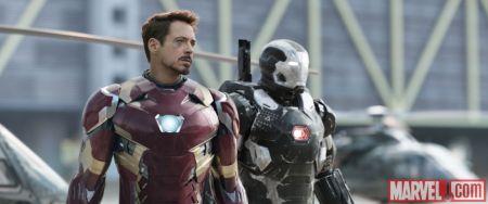 Captain America Civil War - Iron Man and War Machine