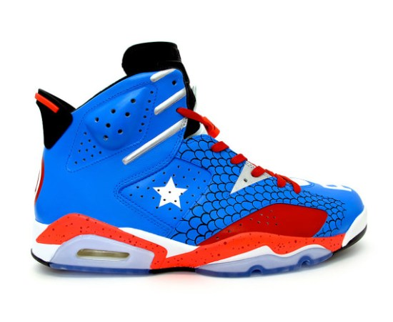 Captain America Jordans