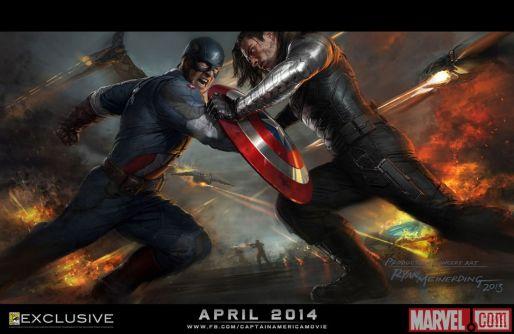 Captain America Winter Soldier Concept SDCC