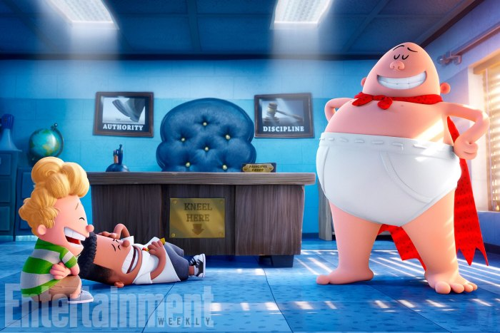 Captain Underpants first look photo