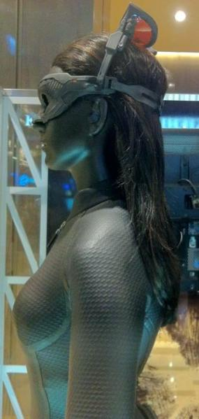 Catwoman Costume Close Up 2