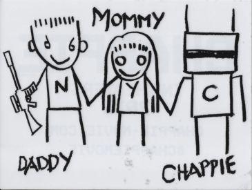 Chappie Window Sticker