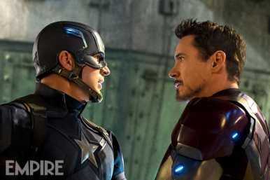 Civil War Captain America and Iron Man