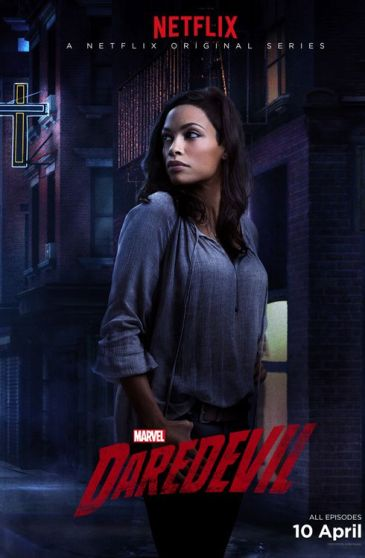 Claire Daredevil Character Poster