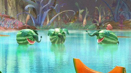 Cloudy 2 - Watermelophant