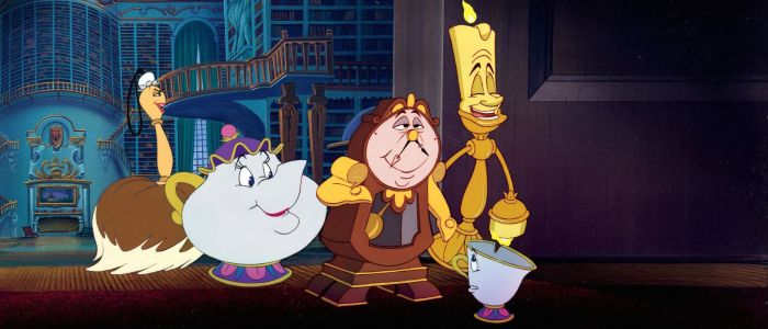 Cogsworth, Mrs Potts and Lumiere (Beauty and the Beast)
