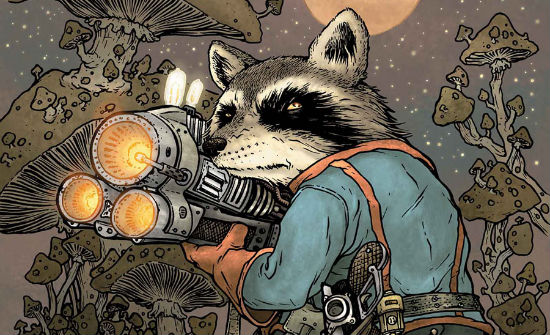 DAVID PETERSON Rocket Raccoon header