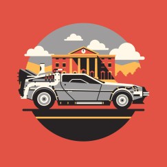 DKNG Icon BTTF