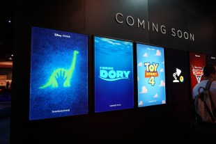 Pixar sequel posters at D23 Expo 2015