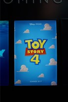 Toy Story 4 poster at D23 Expo 2015