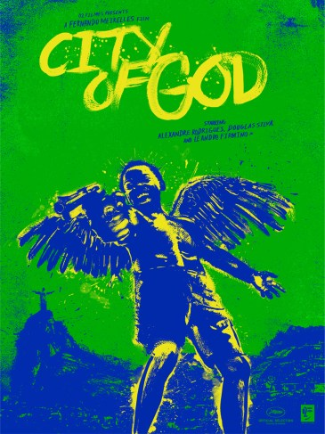 Dan Norris City of God Variant
