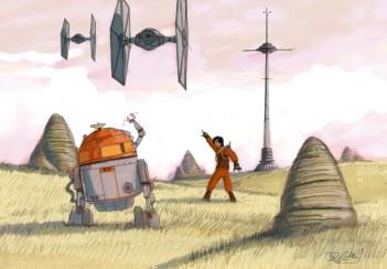 Dave Filoni Star Wars Rebels concept 1