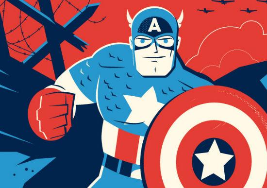 Dave Perillo - Captain America header