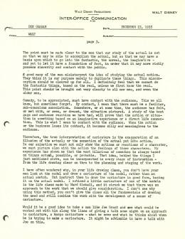 Walt Disney Letter 3