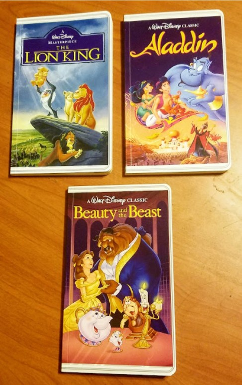 Disney VHS Notebooks