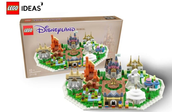 Disneyland Microscale LEGO
