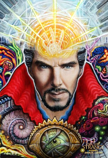 Doctor Strange blacklight poster (regular)