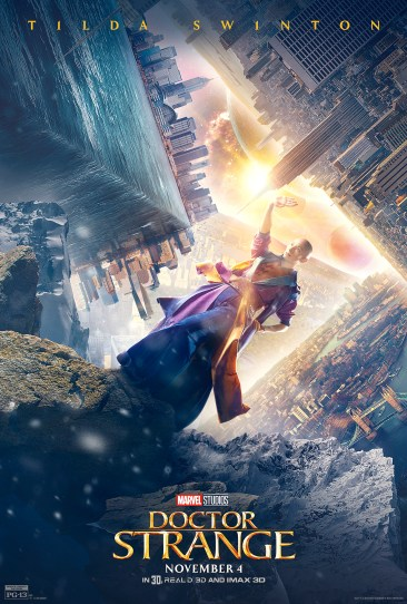 Doctor Strange character poster the ancient one