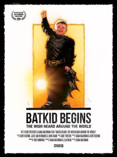 Drew Struzan Batkid poster