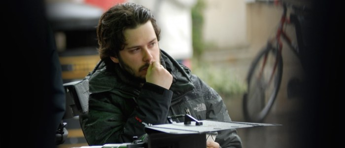 Edgar Wright directing Hot Fuzz