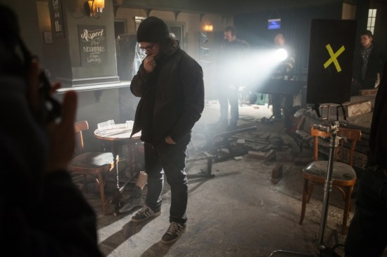 Edgar Wright on The World's End set