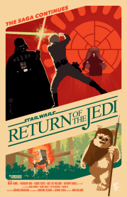 Star Wars Episode VI Return of the Jedi by Brian Miller
