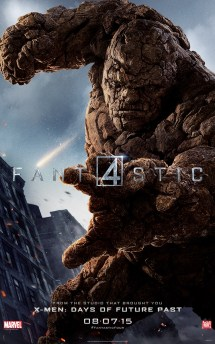 Fantastic Four Thing Poster