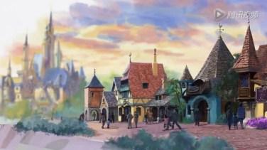 Fantasyland in Shanghai Disneyland