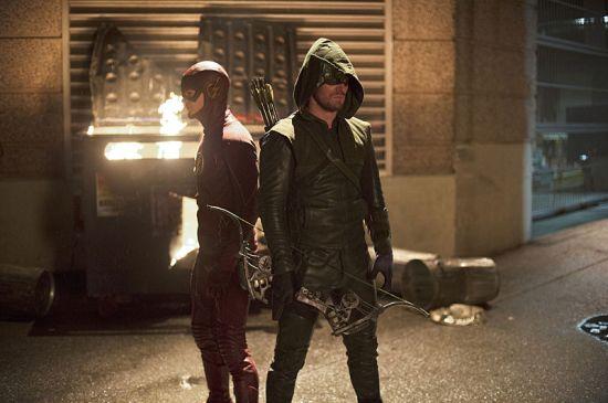 Flash vs Arrow still