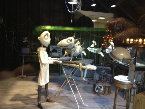 Frankenweenie - attic set