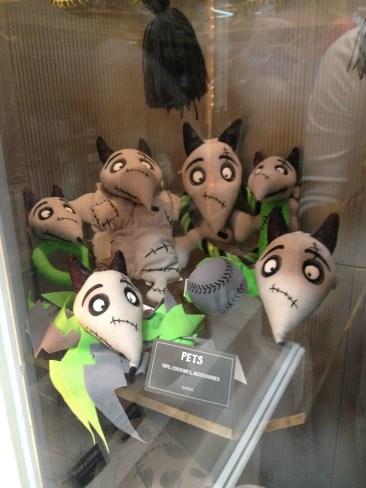 Frankenweenie - dog toys